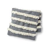 Bernat Alize EZ Loopy Stripe Blanket
