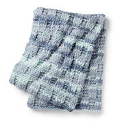 Bernat Alize EZ Wool Box Stitch Blanket