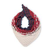 Caron x Pantone Fawning Over Fans Crochet Shawl
