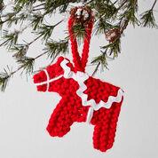 Caron Dala Horse Ornament