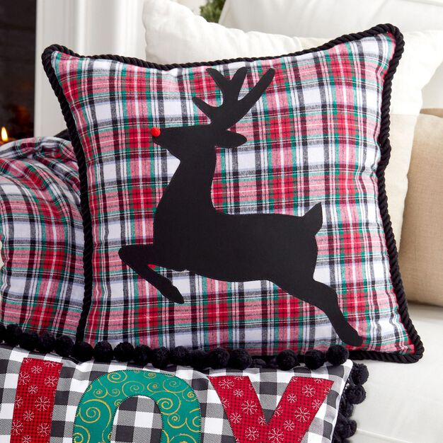 Coats & Clark Oh Deer Pillow in color