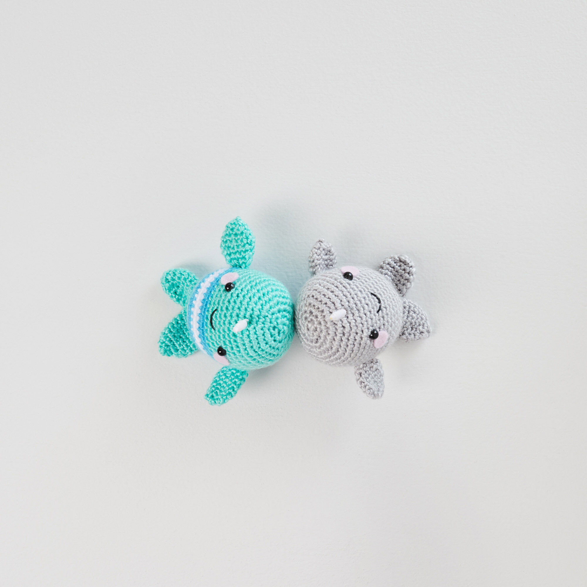 Ned and Norman Crochet Narwhal Pattern | 2000x2000