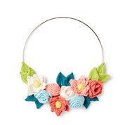 Lily Sugar'n Cream In Bloom Knit Wreath