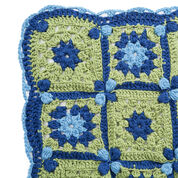 Red Heart Flower Path Throw