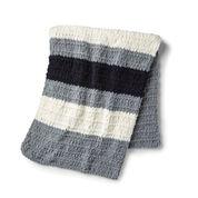 Bernat Alize EZ Bold Stripes Blanket