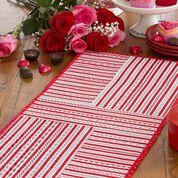 Coats & Clark Valentine Table Runner
