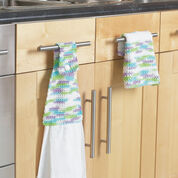 Bernat Towel Topper & Dishcloth