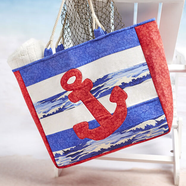 Dual Duty Anchors Away Tote in color