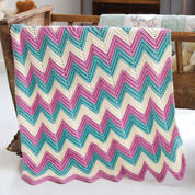 Go to Product: Caron Zig-Zag Baby Blanket, Version 1 in color
