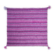 Go to Product: Bernat Garter and Tassels Knit Blanket Scarf in color