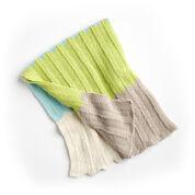 Bernat Bold Baby Knit Blanket