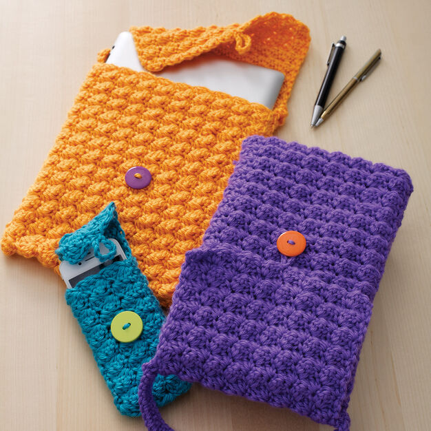 Caron Cell Phone or Tablet Cozy, Cell Phone in color