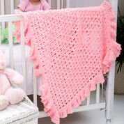 Go to Product: Red Heart One Ball Ruffled Blankie in color