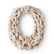 Go to Product: Red Heart Cozy Arm-Knit Cowl in color