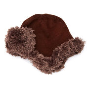 Red Heart Warm Aviator Hat, S