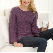 Go to Product: Red Heart New Aran Sweater, S in color