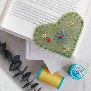 Coats & Clark Folkloric Heart Bookmark