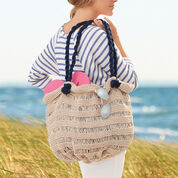 Lily Sugar'n Cream Sea Breeze Bag, Summer Design