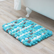 Red Heart Luxurious Bath Rug