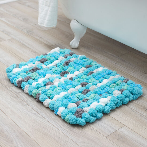 Red Heart Luxurious Bath Rug in color