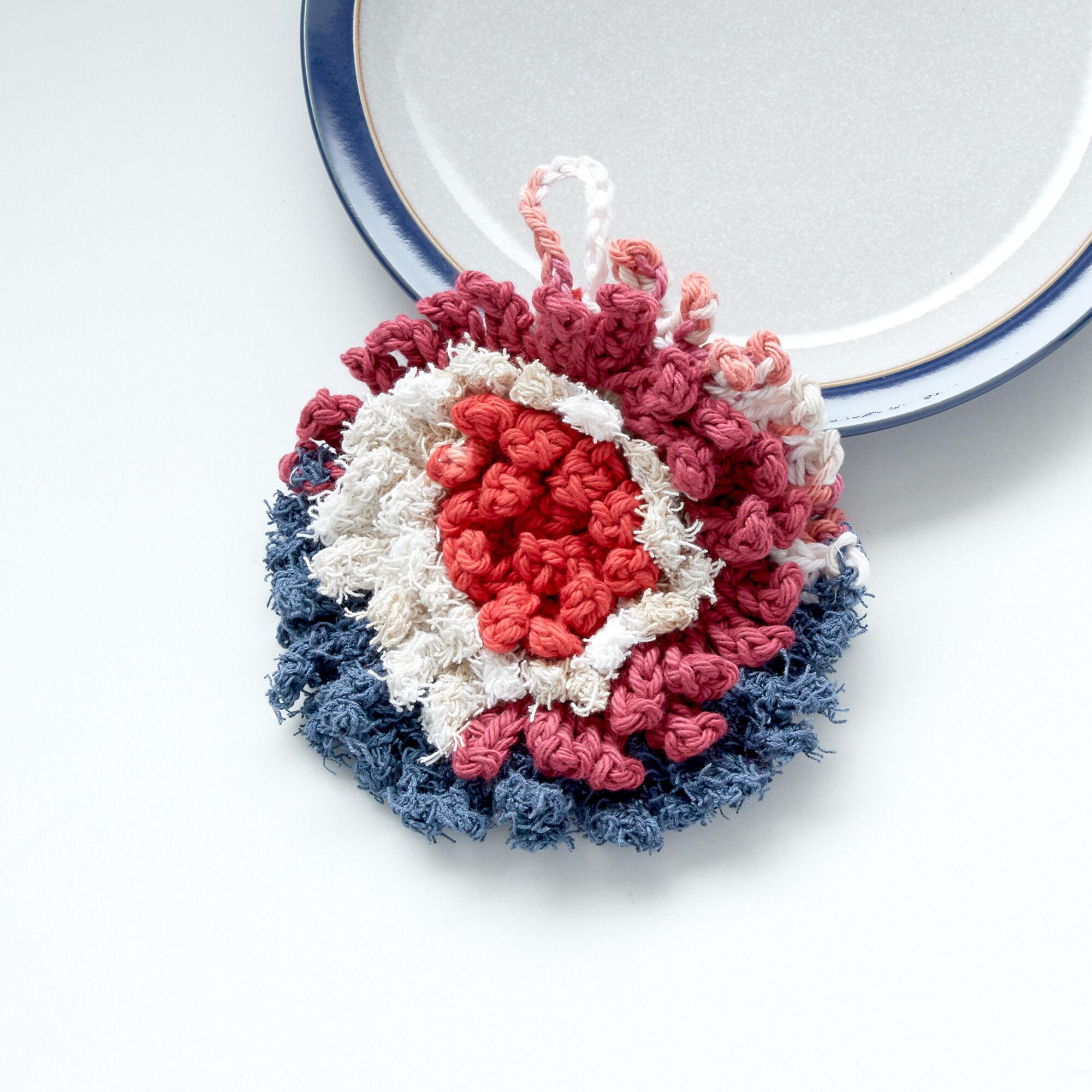 Lily Sugarn Cream Crochet Scrubber Pattern Yarnspirations