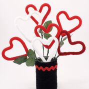 Go to Product: Red Heart Heart Bouquet in color