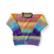 Go to Product: Red Heart Party People Crochet Pullover, XS/S in color