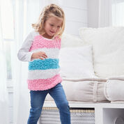 Red Heart Sweet Stripes Tunic, 2 yrs