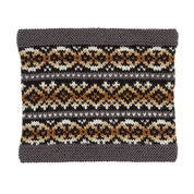 Go to Product: Red Heart Fair Isle Knit Cowl, S/M in color