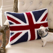 Go to Product: Red Heart Union Jack Pillow in color