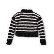 Patons I Heart You Crochet Sweater, XS/S