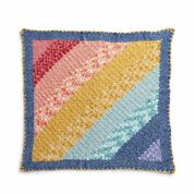 Go to Product: Bernat Fading Rainbow C2C Crochet Blanket in color