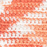 Bernat Handicrafter Cotton Ombres Yarn, Poppy Ombre in color Poppy Ombre