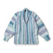 Caron Cuff to Cuff Crochet Cardigan, XS/S