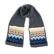 Go to Product: Caron SS Fair Isle Knit Scarf in color