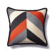 Go to Product: Caron Bold Angles Crochet Pillow in color