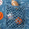 Red Heart Young Athlete Blanket and Rattles in color  Thumbnail Main Image 8}