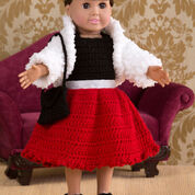 Go to Product: Red Heart Party Time Doll Outfit in color