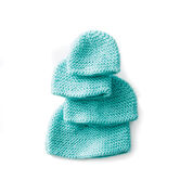 Caron Mini Garter Stitch Cap
