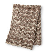 Bernat Making Waves Knit Blanket