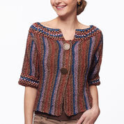 Go to Product: Patons Funky Stripes Crochet Cardigan, M in color