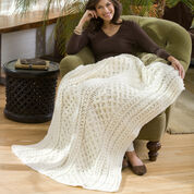 Go to Product: Red Heart Lattice Weave Throw, Super Saver Jumbo - S in color