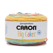 Go to Product: Caron Big Cakes Yarn in color Summer Berry Tart