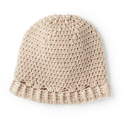 Bernat Aneeta's Crochet Baby Hat, Preemie