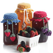 Lily Sugar'n Cream Canning Jar Toppers, Version 1