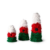 Go to Product: Red Heart Christmas Tree Trio, S in color