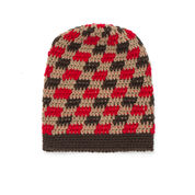 Patons Gingham Hat, 4 yrs