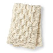 Go to Product: Bernat Alize EZ Blanket Honeycomb Cable Blanket in color