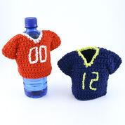 Go to Product: Red Heart Team Jersey Bottle Coozy in color