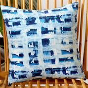 Coats & Clark Outdoor Plaid Pillow